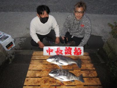 中長渡船の2021年2月13日(土)1枚目の写真