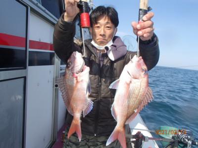 秀吉丸の2021年2月13日(土)1枚目の写真