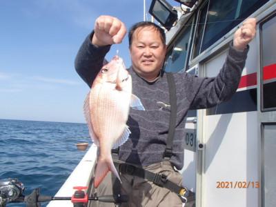 秀吉丸の2021年2月13日(土)2枚目の写真