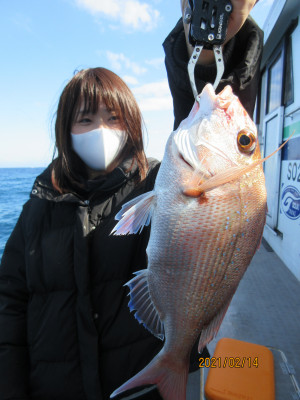 茂吉丸の2021年2月14日(日)1枚目の写真