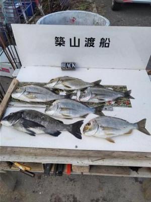 築山渡船の2021年2月14日(日)3枚目の写真