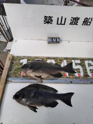 築山渡船の2021年2月14日(日)4枚目の写真