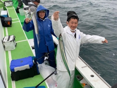 三喜丸釣船店の2021年2月14日(日)3枚目の写真