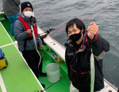 三喜丸釣船店の2021年2月14日(日)4枚目の写真