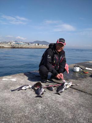 垂水一文字船長丸(海神丸)の2021年2月14日(日)1枚目の写真