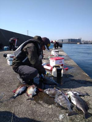 垂水一文字船長丸(海神丸)の2021年2月14日(日)2枚目の写真