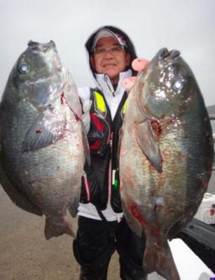 丸銀釣りセンターの2021年2月14日(日)1枚目の写真