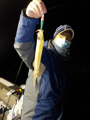 美浜釣舟センターの2021年2月12日(金)2枚目の写真