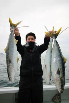 西岡遊漁の2021年2月14日(日)3枚目の写真