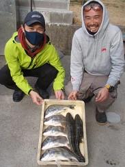 村櫛フィッシング沖の2021年2月13日(土)1枚目の写真
