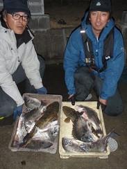 村櫛フィッシング沖の2021年2月13日(土)2枚目の写真