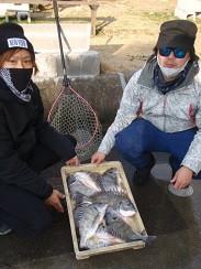 村櫛フィッシング沖の2021年2月13日(土)5枚目の写真