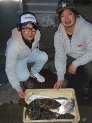 村櫛フィッシング沖の2021年2月14日(日)3枚目の写真