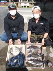 村櫛フィッシング沖の2021年2月14日(日)5枚目の写真