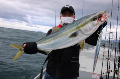 西岡遊漁の2021年2月15日(月)1枚目の写真