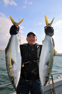 西岡遊漁の2021年2月15日(月)5枚目の写真