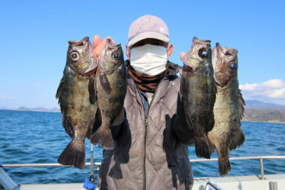西岡遊漁の2021年2月16日(火)1枚目の写真