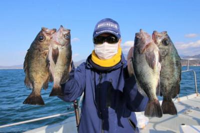 西岡遊漁の2021年2月16日(火)2枚目の写真