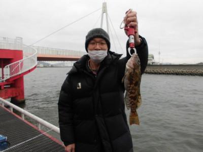 尼崎市立魚つり公園の2021年2月19日(金)2枚目の写真