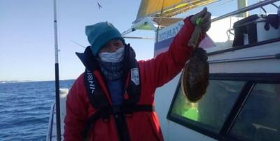 三喜丸釣船店の2021年2月19日(金)4枚目の写真