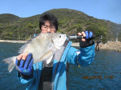 由良海つり公園&釣堀ランドの2021年2月20日(土)1枚目の写真