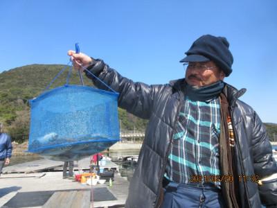 由良海つり公園&釣堀ランドの2021年2月20日(土)4枚目の写真