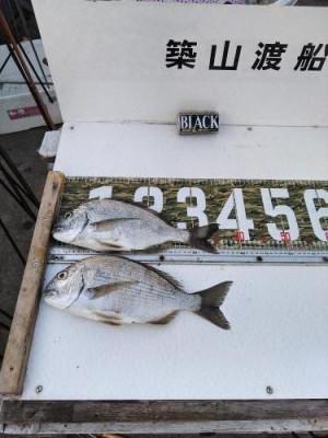 築山渡船の2021年2月20日(土)2枚目の写真