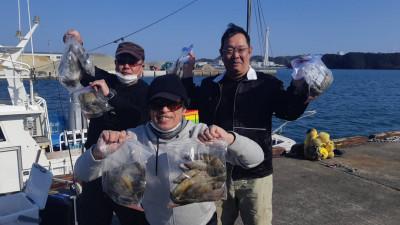 フィッシングボート 清和丸の2021年2月20日(土)3枚目の写真