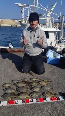 フィッシングボート 清和丸の2021年2月20日(土)4枚目の写真