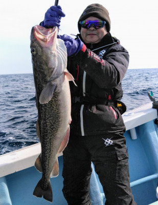 佐々木釣具店 平進丸の2021年2月21日(日)2枚目の写真