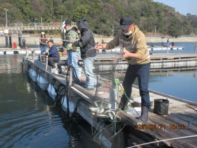 由良海つり公園&釣堀ランドの2021年2月21日(日)2枚目の写真
