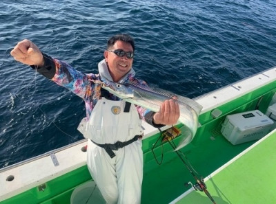三喜丸釣船店の2021年2月21日(日)3枚目の写真
