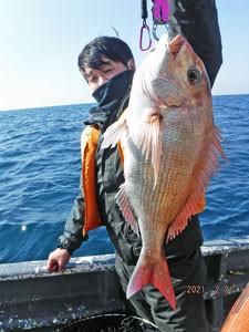 第一大漁丸の2021年2月21日(日)1枚目の写真