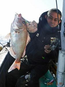 第一大漁丸の2021年2月21日(日)3枚目の写真