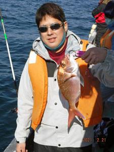 第一大漁丸の2021年2月21日(日)4枚目の写真