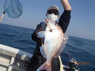 秀吉丸の2021年2月22日(月)1枚目の写真