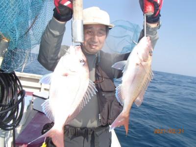 秀吉丸の2021年2月22日(月)3枚目の写真