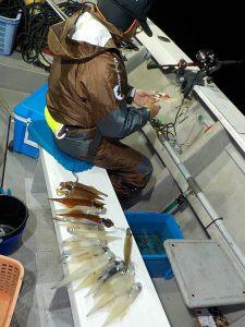 美浜釣舟センターの2021年2月21日(日)5枚目の写真