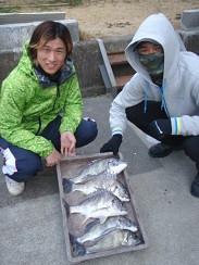 村櫛フィッシング沖の2021年2月21日(日)2枚目の写真
