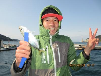 由良海つり公園&釣堀ランドの2021年2月24日(水)1枚目の写真