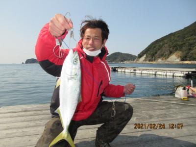 由良海つり公園&釣堀ランドの2021年2月24日(水)2枚目の写真