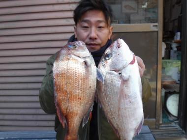 奥村釣船の2021年2月24日(水)1枚目の写真