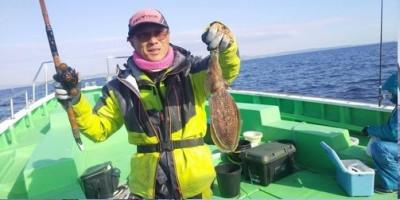 三喜丸釣船店の2021年2月24日(水)1枚目の写真