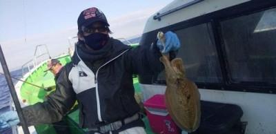 三喜丸釣船店の2021年2月24日(水)2枚目の写真