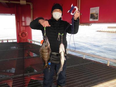 尼崎市立魚つり公園の2021年2月25日(木)1枚目の写真