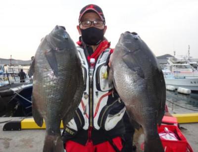 丸銀釣りセンターの2021年2月23日(火)4枚目の写真