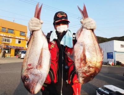 丸銀釣りセンターの2021年2月24日(水)2枚目の写真