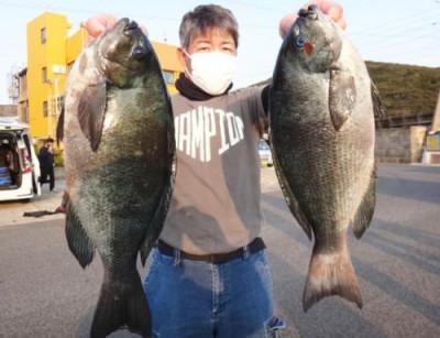 丸銀釣りセンターの2021年2月24日(水)3枚目の写真