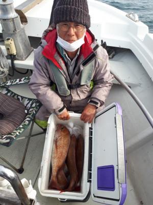 釣り船くわだの2021年2月23日(火)3枚目の写真