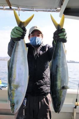西岡遊漁の2021年2月23日(火)3枚目の写真